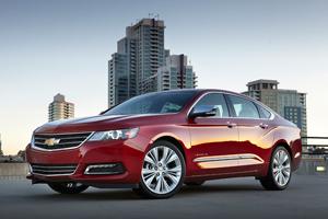 2016 Chevrolet Impala exterior
