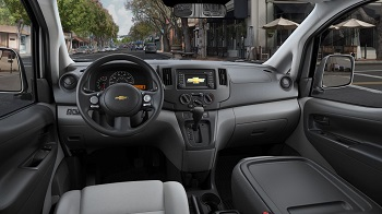 2015 Chevy City Express Interior