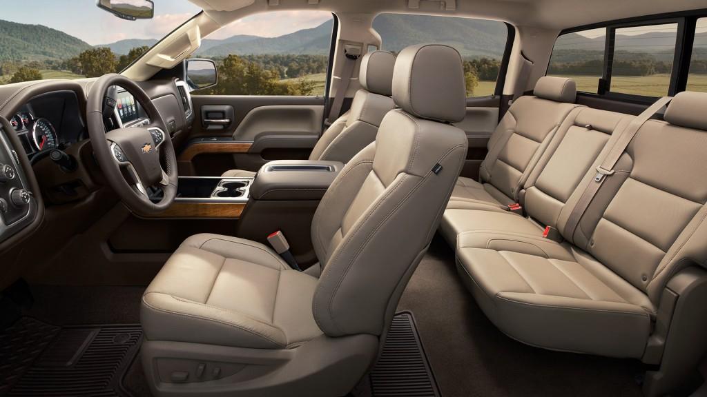 2015 Chevy Silverado 2500 Interior