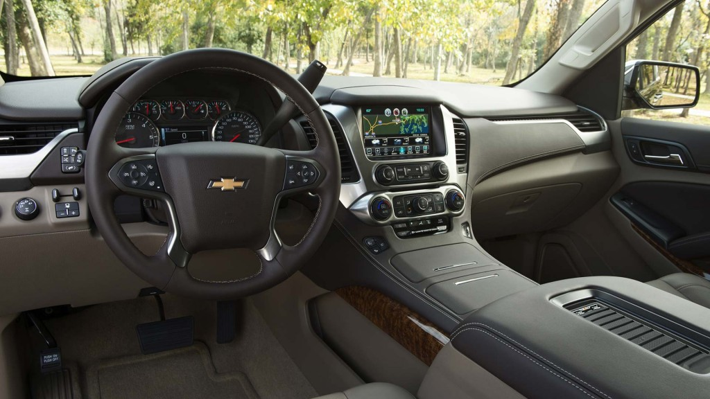 2016 Chevy Suburban Interior