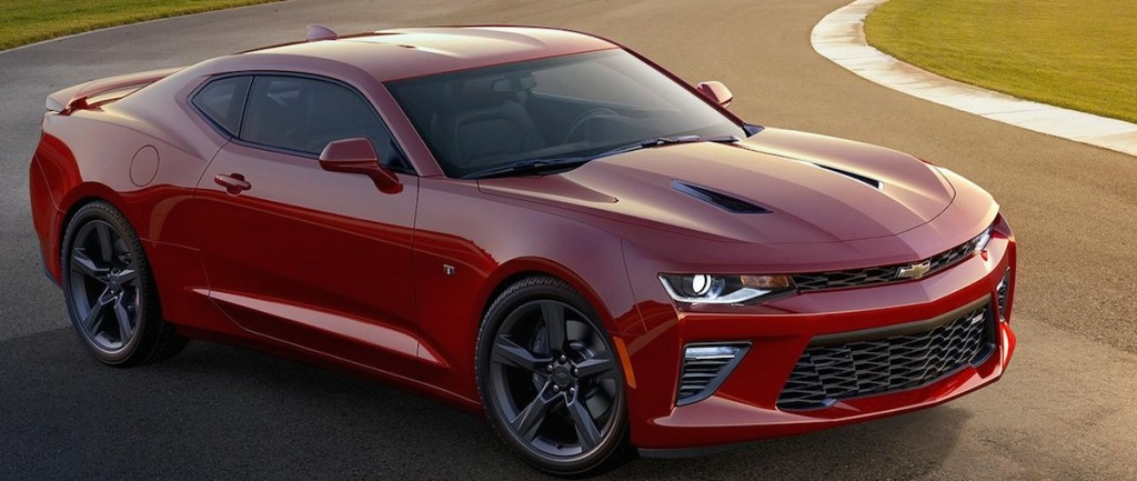 The 2016 Chevy Camaro SS is being produced in Lansing, Michigan. Photo courtesy of Toyota.