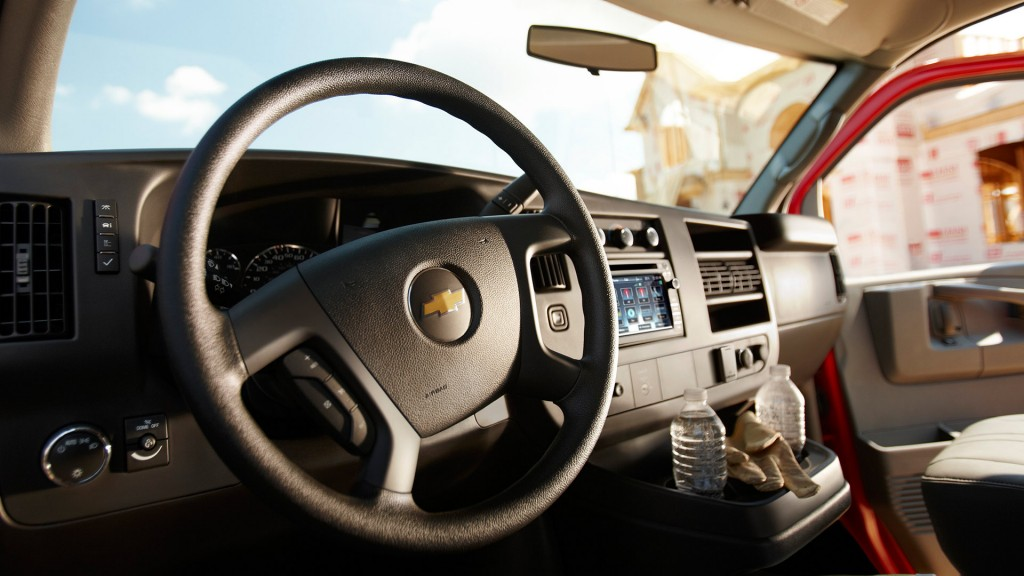 2015 Chevy Express 2500 Interior Features