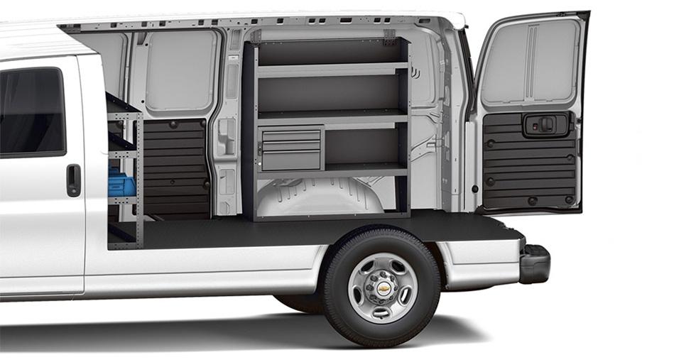 2015 Chevy Express 3500 Interior Design Cargo