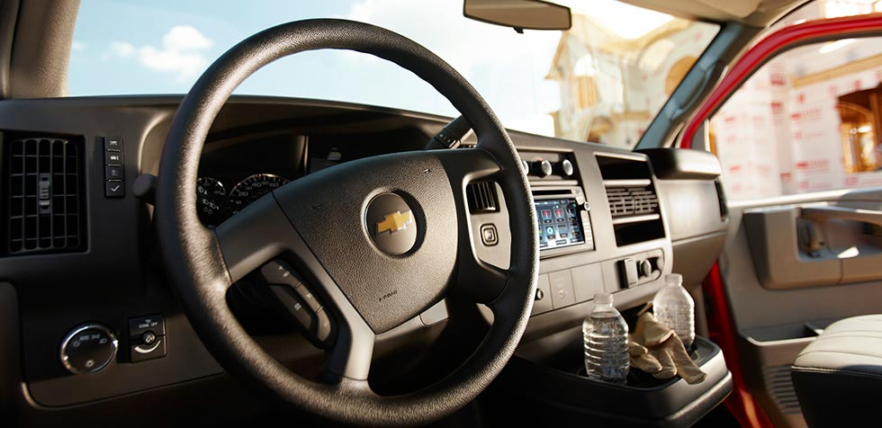 2016 Chevy Express 3500 Interior Features