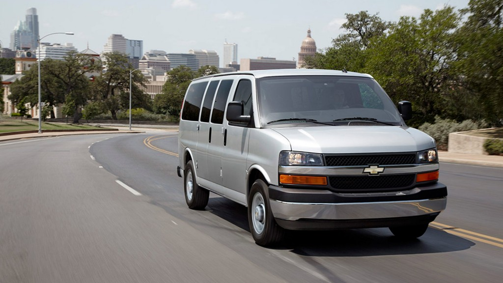 2016 Chevy Express 3500 Performance