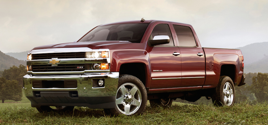 2016 Chevy Silverado 2500 HD vs. 2016 Ford F-250 SD