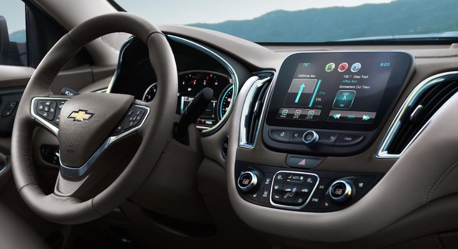 2016 Chevrolet Malibu Interior