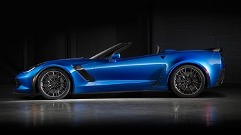 2016 Chevy Corvette Z06 Trims