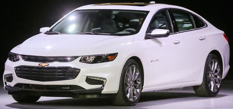 The New 2016 Chevy Malibu