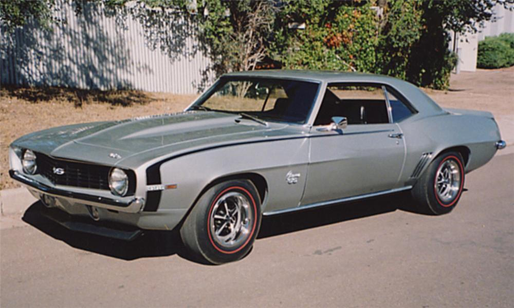 1969 - Chevy - Camaro SS - SILVER Top of post