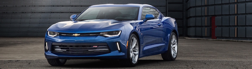 2016 Camaro RS - Blue
