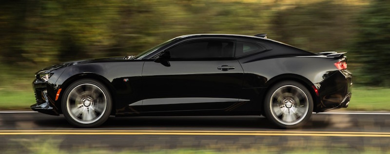 2016 camaro black side