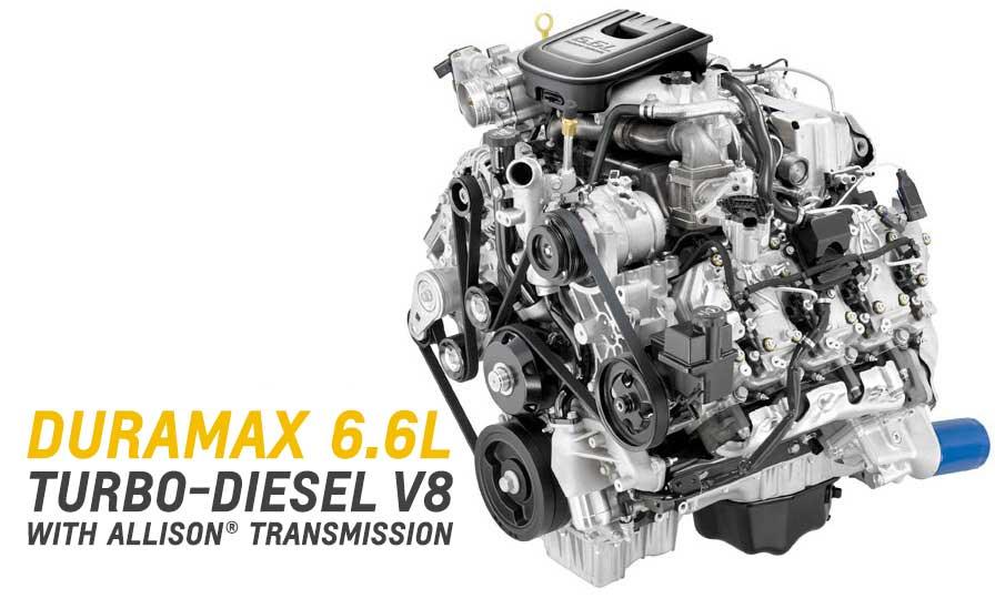 Chevy Duramax V8 Diesel