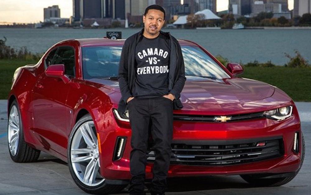 2016 Chevy Camaro Inspires Unique Clothing Line