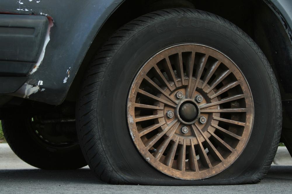 2008-08-19_Flat_tire