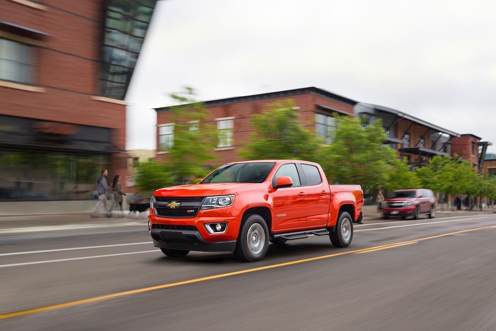 2016 Chevy Colorado Orange