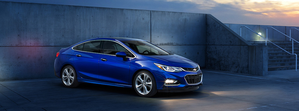 2016 Chevy Cruze Blue