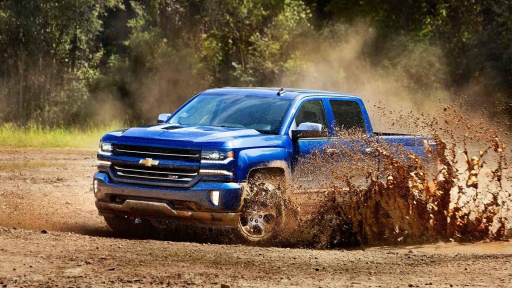 Chevy SIlverado Mud