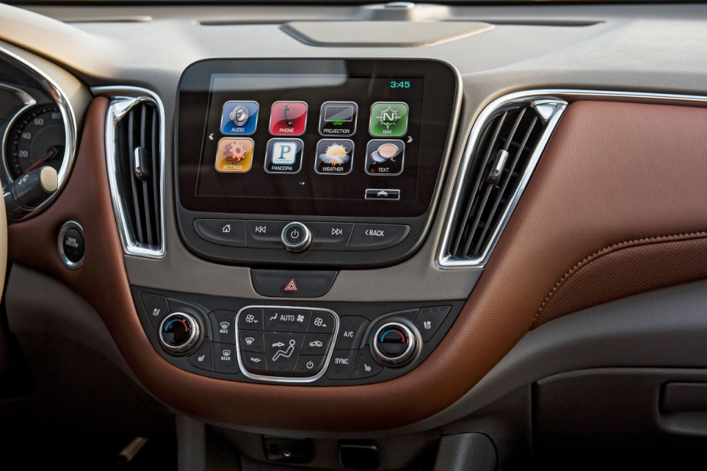 2016 Chevy Malibu Latest Tech