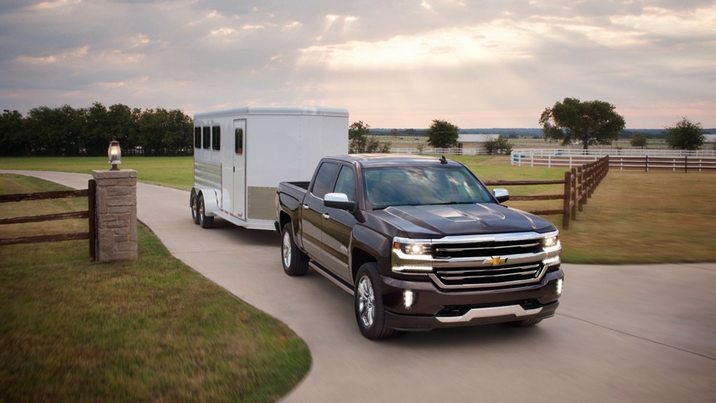 2016 Chevy Silverado Towing