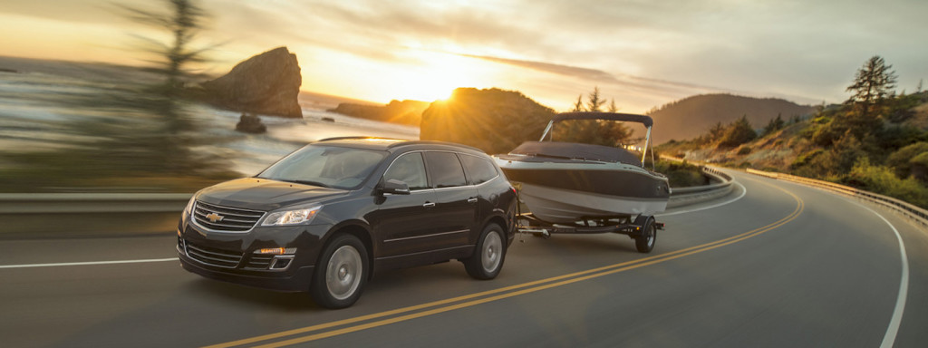 2016 Chevy Traverse Exterior