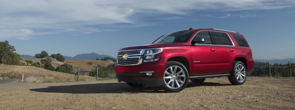 2016 Chevy Tahoe Design