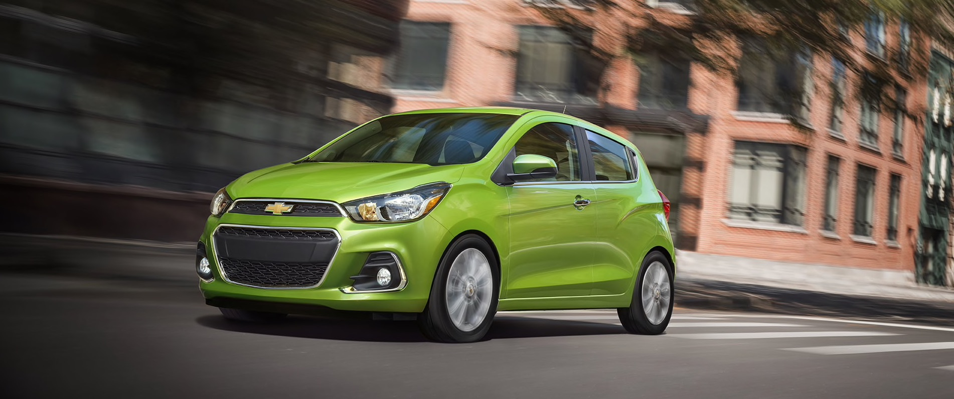 2016 Chevy Spark Front