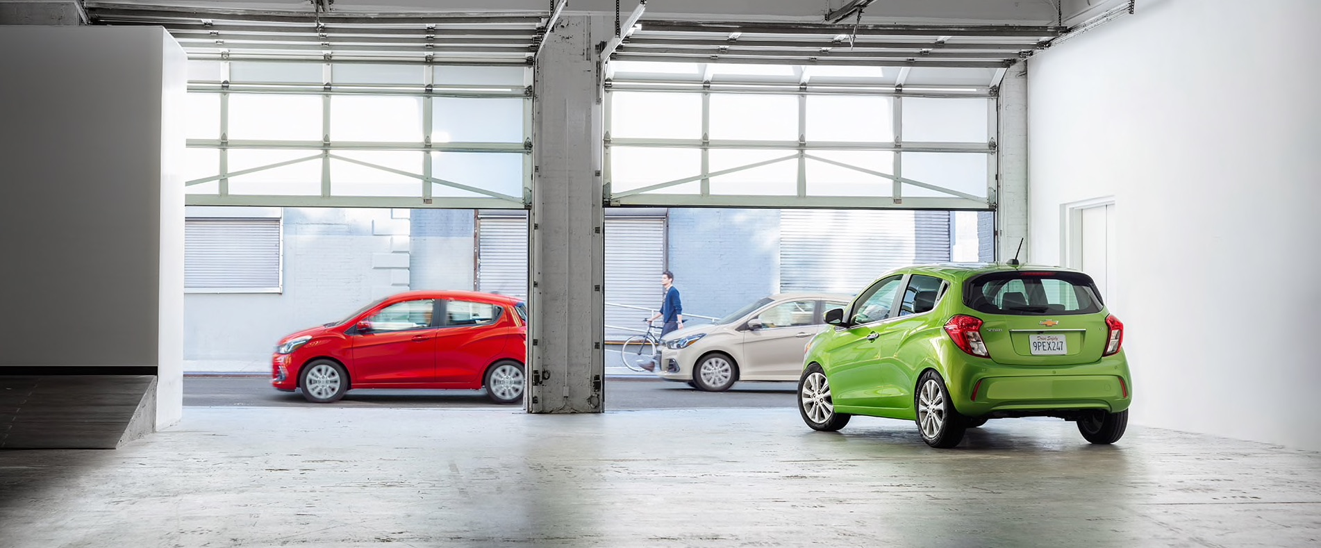 2016 Chevy Spark Garage
