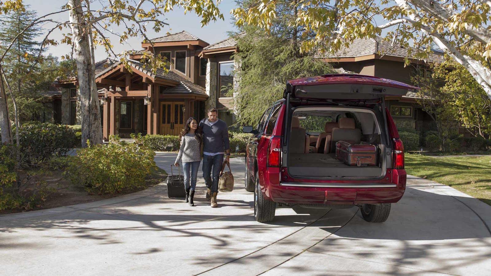 2016 Chevy Tahoe Cargo