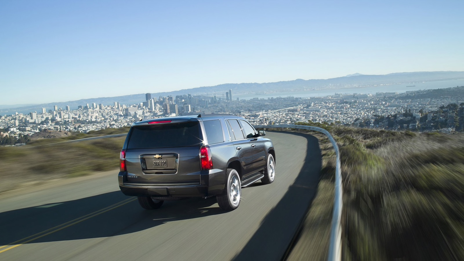 2016 Chevy Tahoe En Route