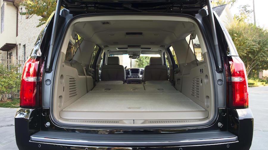 2016 Chevy Suburban Cargo