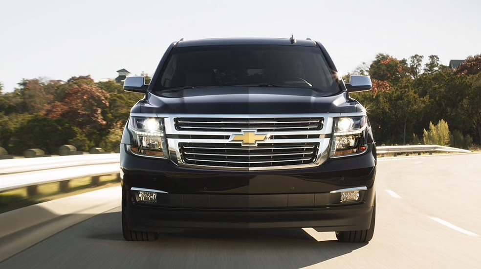 2016 Chevy Suburban Front