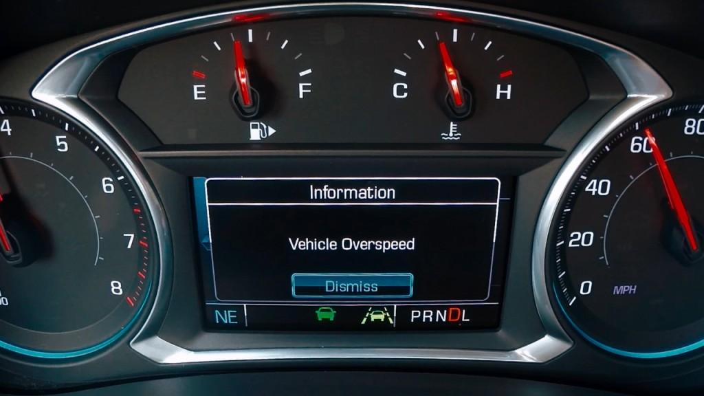 Chevy Teen Vehicle Overspeed