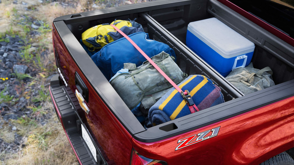2016 Chevy Colorado Bed
