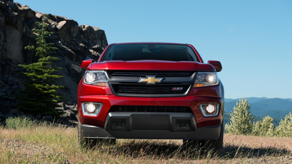 2016 Chevy Colorado Grille