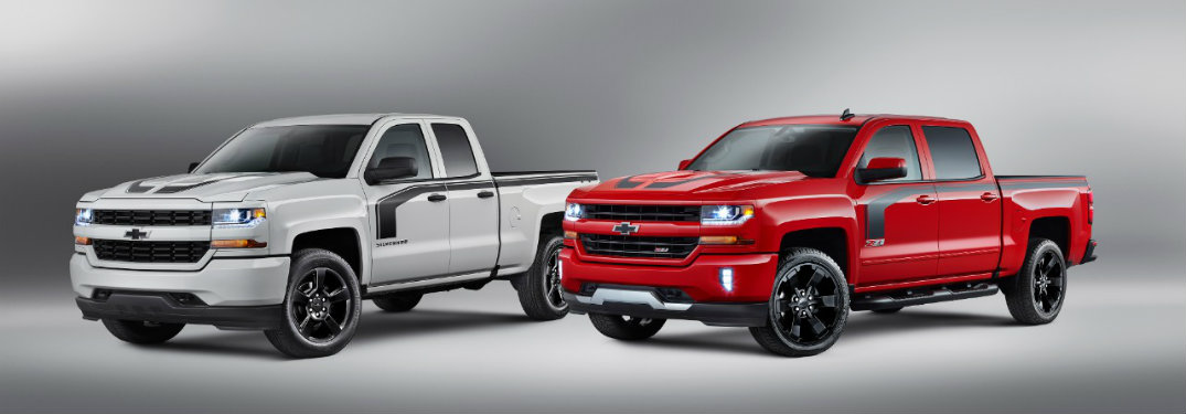 Chevrolet Special Edition Trucks >> Special Edition Chevy Trucks Take Shoppers By Storm