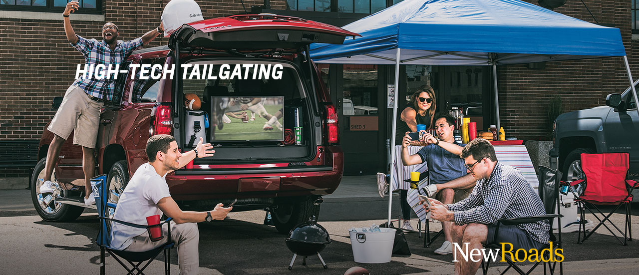 2017 chevy tahoe tailgating