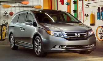 2016 Honda Odyssey Front Page