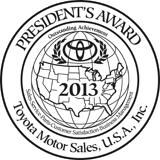 Presidents Award logo