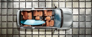 2015 Toyota Sequoia storage and passenger space