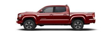 2016 Toyota Tacoma Barcelona Red