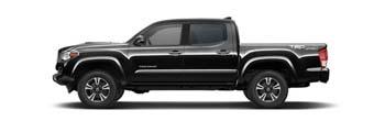2016 Toyota Tacoma Black
