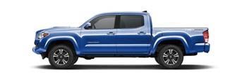 2016 Toyota Tacoma Blazing Blue