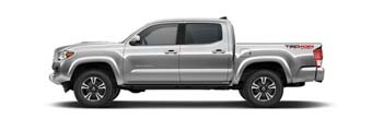 2016 Toyota Tacoma Silver Sky