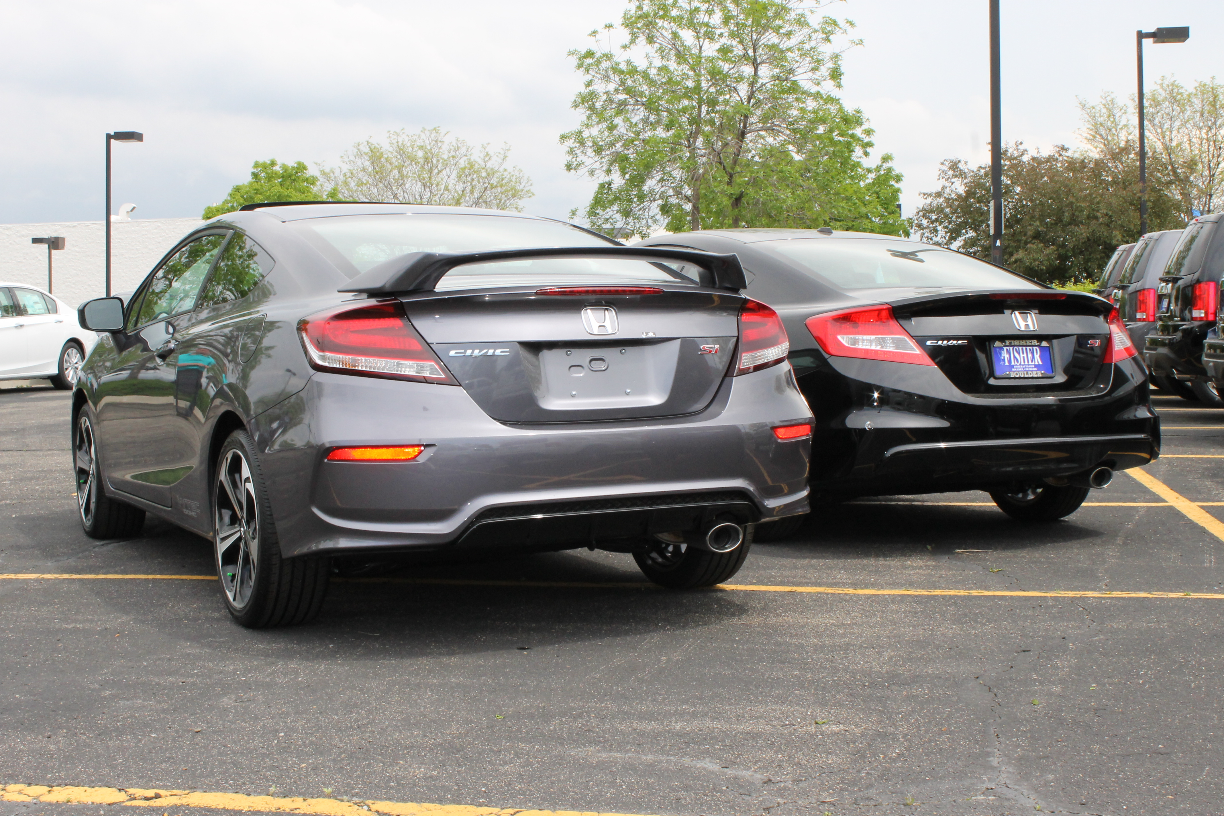 Honda Civic Si Comparison From 2013 To 2014
