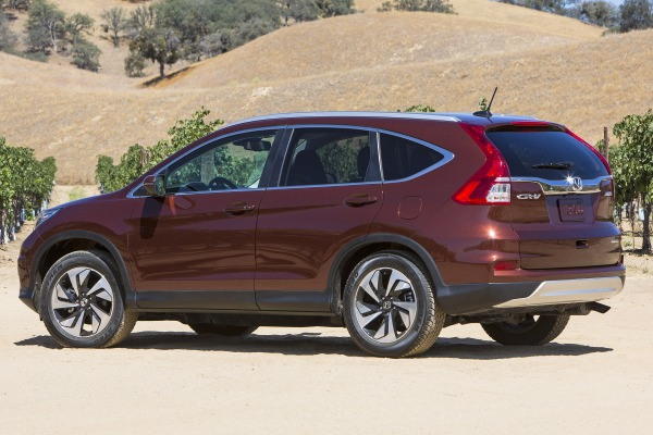 2015 honda cr v touring exterior features overview. Black Bedroom Furniture Sets. Home Design Ideas