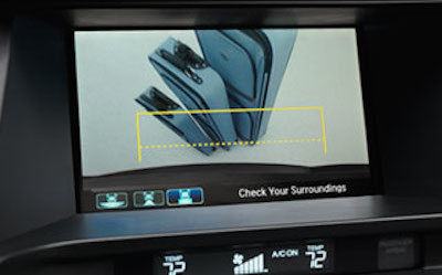honda crosstour rearview_camera