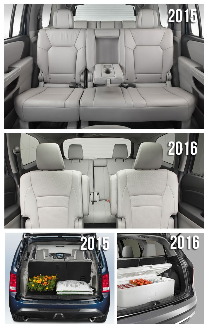 2016 Honda Pilot Features