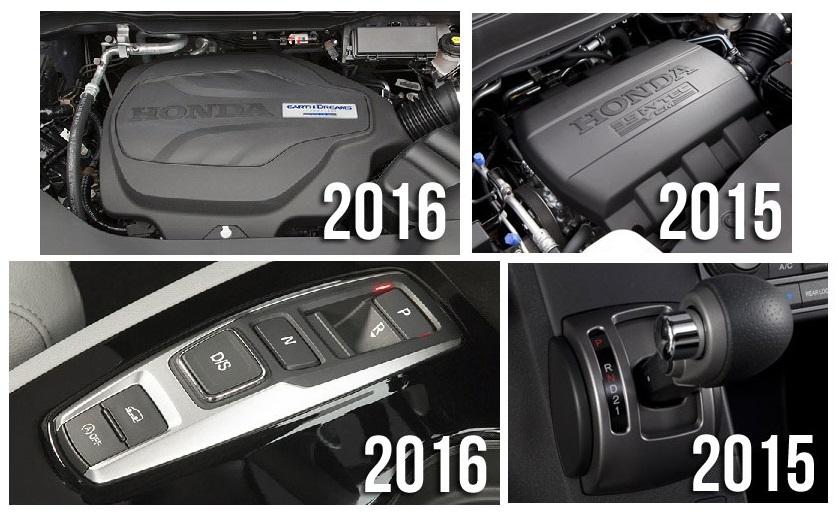 2016 Honda Pilot Comparison