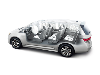Top Safety Pick Honda Odyssey Has Lowest Rate Of Driver